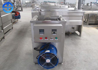 China Electricity Heating Fried Chicken Machine Manual Discharging Type 12kw 380v supplier