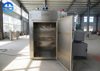 China Full Automatic Stainless Steel Fish Smoker , Commercial Meat Smoker QZX-50 supplier