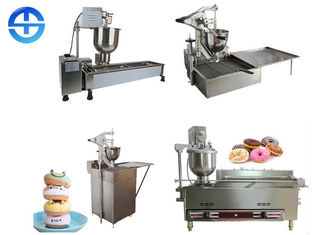 China Stainless Steel Automatic Mini Donut Machine , Commercial Donut Making Machine supplier