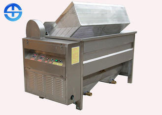 China Chicken Deep Fryer Machine , Automatic Fryer Machine For Potato Chips / Rice Crisp supplier