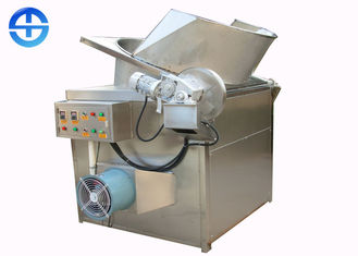 China 63 kw Fried Chicken Fryer Machine Automatic Discharging / Stirring Chips Frying Machine supplier