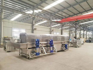 China Gas Heating Potato Chips Production Line 69-168kw Heating Power 850kg supplier