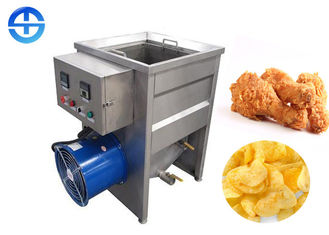 China Small Electricity Heating Food Frying Machine For Fish Frying 880*620*930mm supplier