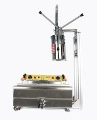 China 304 Stainless Steel Automatic Donut Making Machine 110v / 220v For Churros supplier