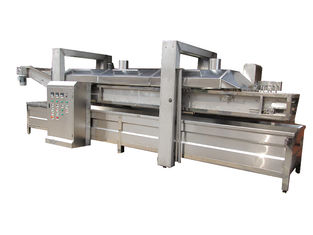 China Fully Automatic Potato Chips Making Machine 800 - 900kg/H Saving Energy supplier
