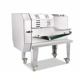 China Automatic Commercial Vegetable Cutting Machine 1.2kw Power 380v / 220v Voltage supplier