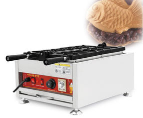 China 24kg Net Weight Food Industry Machines Small Taiyaki Fish Waffle Maker supplier