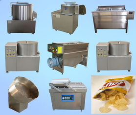 High Performance Potato Chips Production Line Fast Speed ISO Certification